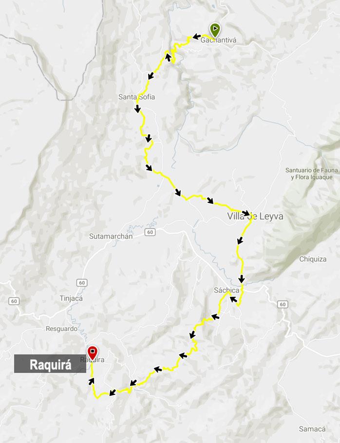 rutas en bicicleta Boyacá