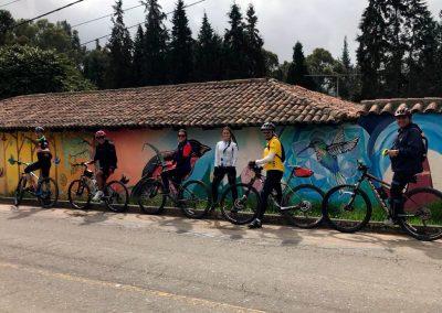 Arte rural que adorna los paisajes durante la ruta