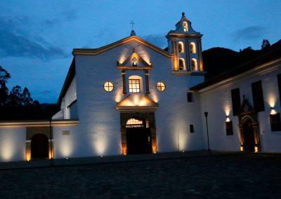 Fachada principal del Claustro Santo Eccehomo