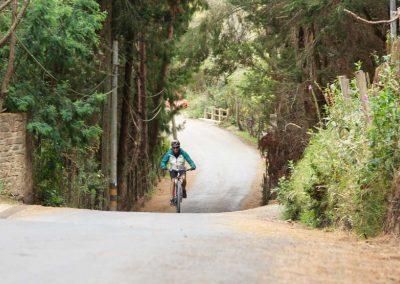 En este tramo de la ruta encontramos carretera asfaltada debido a que se encuentran mayor presencia de fincas y casas tipo villa.